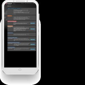tulip hr system - mobilna verzia